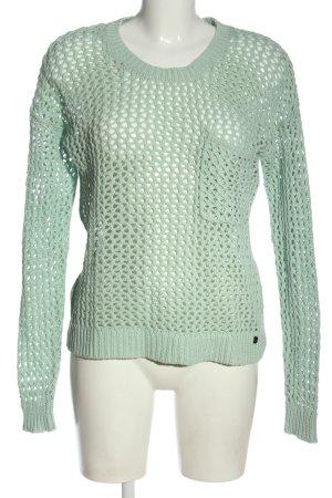 Roxy Jersey de punto verde look casual