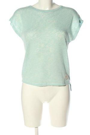 Roxy Strickshirt blau-türkis meliert Casual-Look
