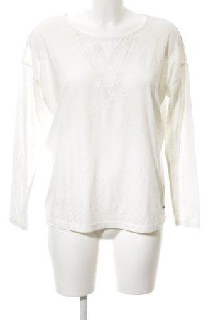 Roxy Gebreide top wit zakelijke stijl