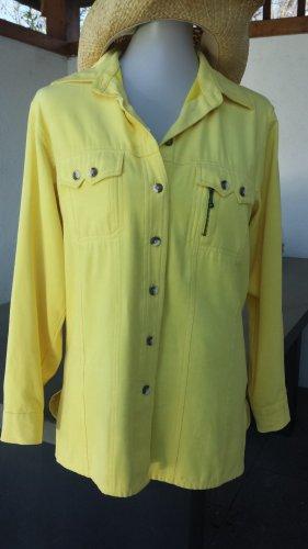 Roxy Summer Splash Bluse Zitronengelb
