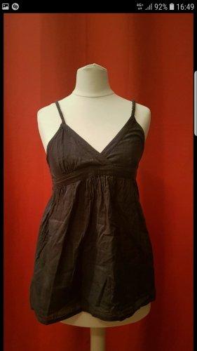 Roxy T-shirt col en V noir-gris anthracite