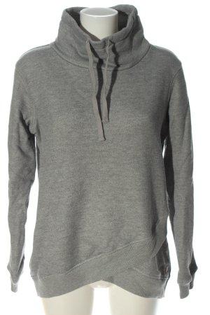 Roxy Sweatshirt hellgrau meliert Casual-Look