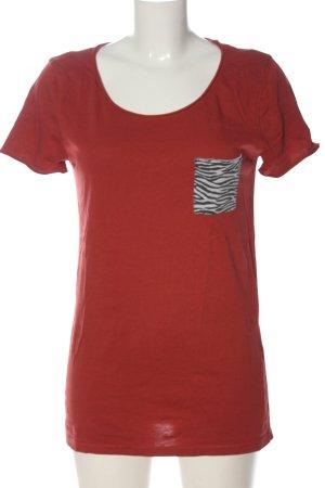 Roxy Camiseta rojo look casual