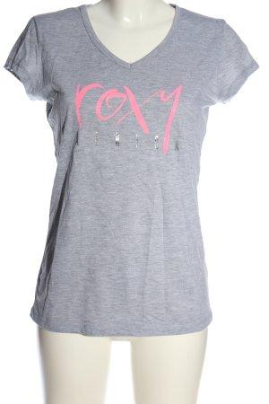 Roxy T-Shirt meliert Casual-Look