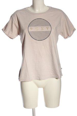 Roxy Camiseta letras impresas look casual