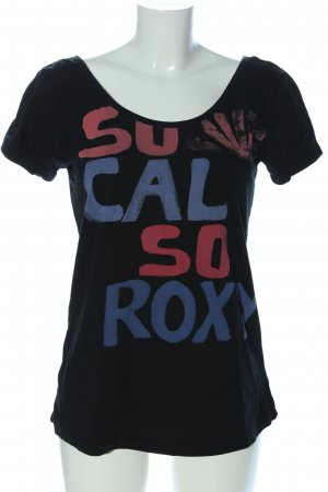 Roxy T-shirt lettrage imprimé style décontracté