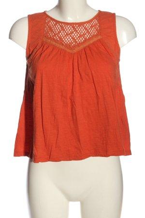 Roxy Camiseta sin mangas naranja claro moteado look casual
