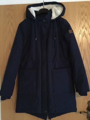 Roxy Between-Seasons-Coat dark blue-white