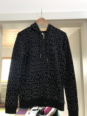 Roxy Gilet à capuche noir-blanc