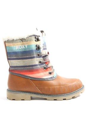 Roxy Winter boots gestreept patroon casual uitstraling