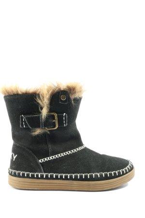 Roxy Winter-Stiefeletten schwarz Casual-Look