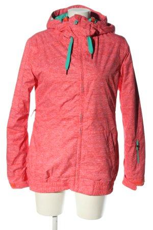Roxy Winterjacke pink meliert Casual-Look