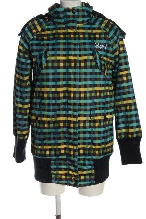 Roxy Winter Jacket blue-primrose allover print casual look