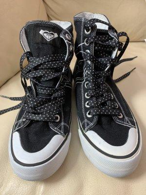 Roxy High Top Sneaker black-white