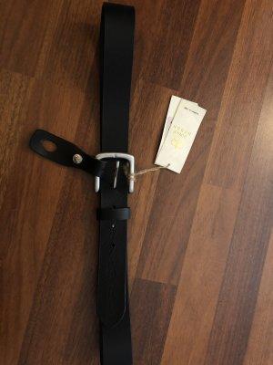 Royal Baron Gürtel Leder schwarz