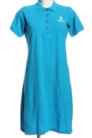 Royal Berkshire Polo Club Hemdblusenkleid blau Casual-Look