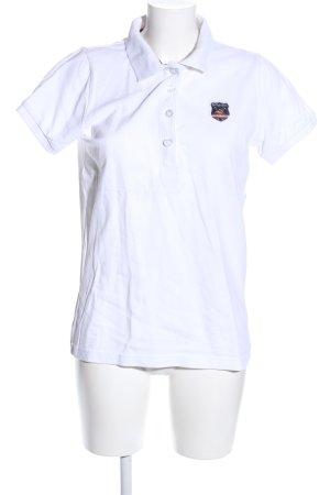 Royal Berkshire Polo Club Polo-Shirt weiß sportlicher Stil