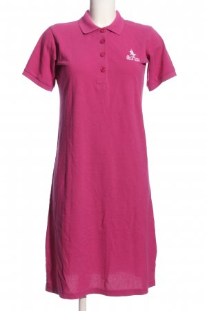 Royal Berkshire Polo Club Polokleid pink-weiß Casual-Look