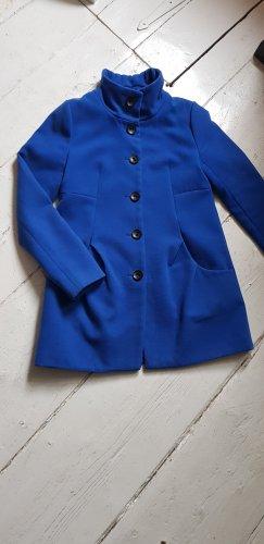Zara Cappotto corto blu