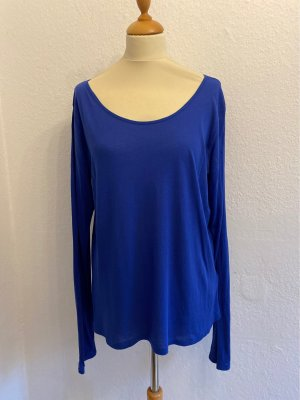Royal-Blau T-Shirt von L.O.G.G by H&M Gr.XL/40/42/44