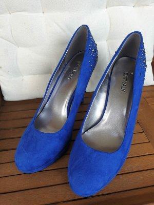 Catwalk Hoge hakken blauw