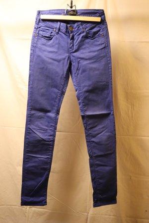 Cimarron Pantalone cinque tasche blu Cotone