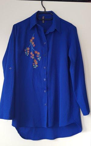 Royal blue Bluse