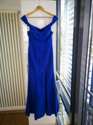 Unbekannte Marke Vestido de baile azul