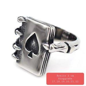 Royal Flash Ring aus Chirurgenstahl
