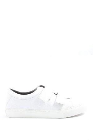 Royal republiq Sneaker Klettverschluss weiß Animalmuster Casual-Look
