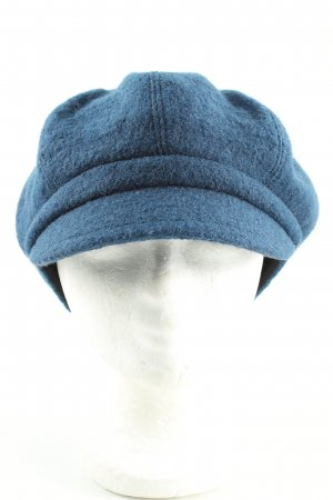 Royal Wool Casquette à visière bleu style décontracté
