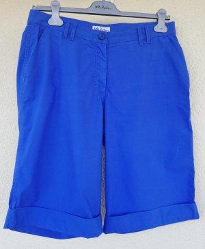 royalblaue Bermuda Shorts von Ulla Popken