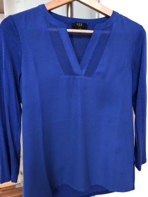 1.2.3 Paris Tunique-blouse bleu-bleuet