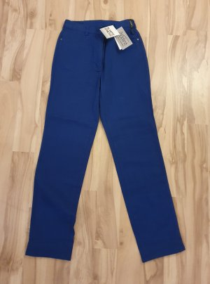 Adelina Stretch broek blauw