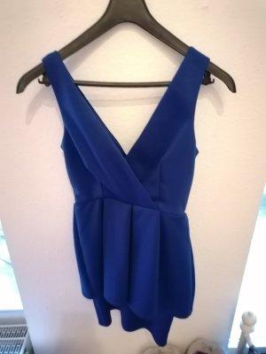 Asos Vestito peplo blu