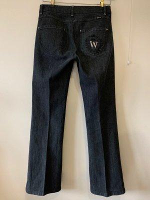 Weekend Max Mara Jeans svasati blu scuro