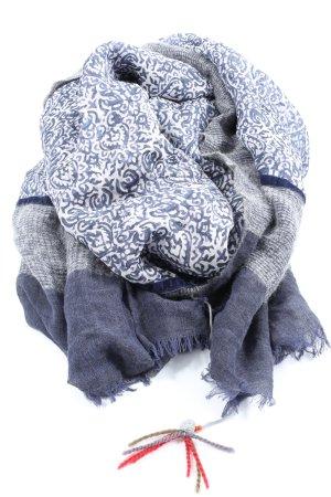 RUBICON Écharpe en tricot motif abstrait style décontracté