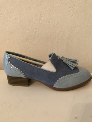 Ruby Shoes Tara, Slipper, Budapester, Vintage, Retro