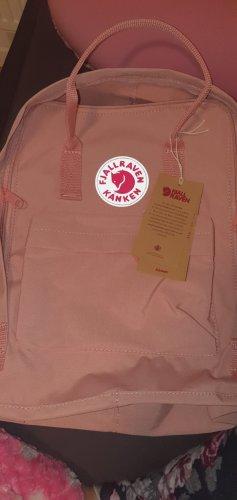 Mochila escolar color rosa dorado-rosa