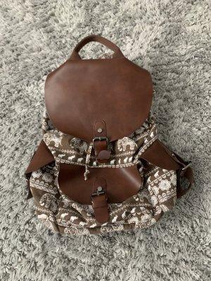 Trekking Backpack white-brown