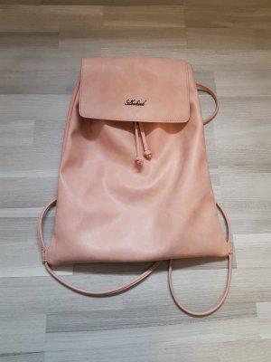 School Backpack dusky pink