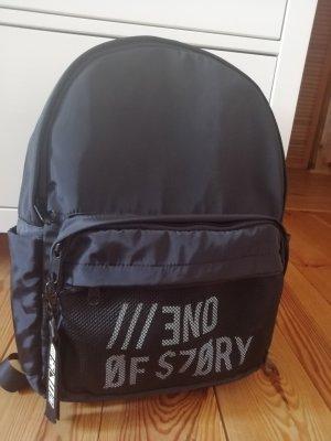 NewYorker Zaino per la scuola bianco-nero