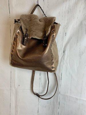 Made in Italy Carrito de mochila color bronce