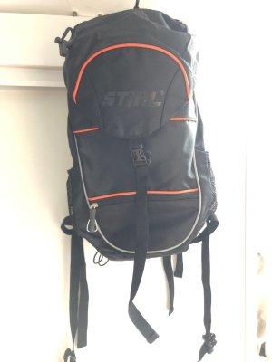 STIHL Trekking Backpack black-neon orange