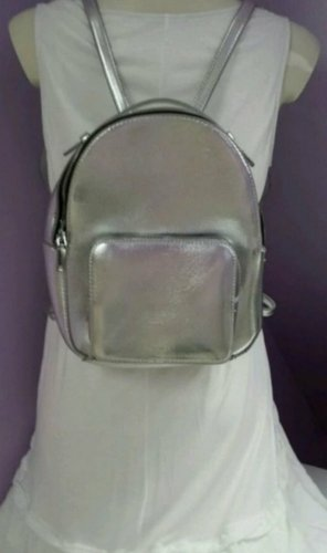 Mango Backpack Trolley silver-colored