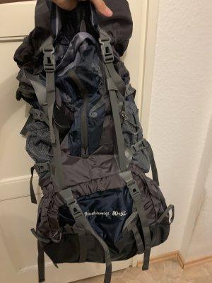 Plecak trekkingowy czarny-srebrny