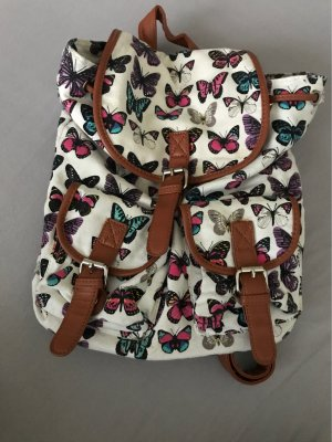 Backpack Trolley white-brown