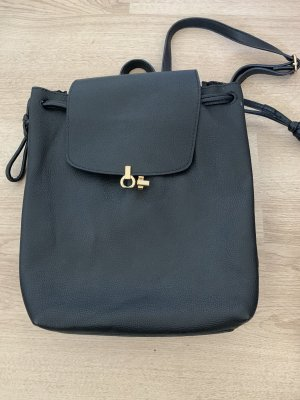 Topshop Daypack black-gold-colored