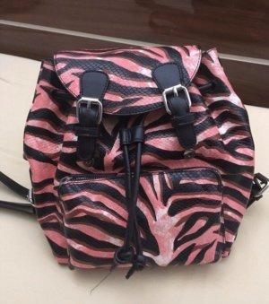 Zara Backpack Trolley black-pink