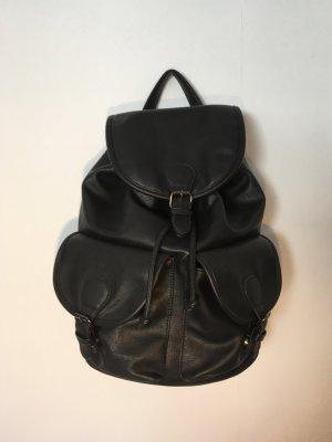 Even & Odd School Backpack black polyurethane